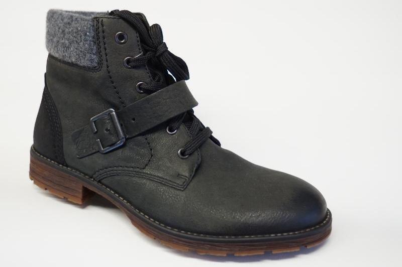 Rieker schwarz. Herren Stiefel Boots warm 0bf2bb8582