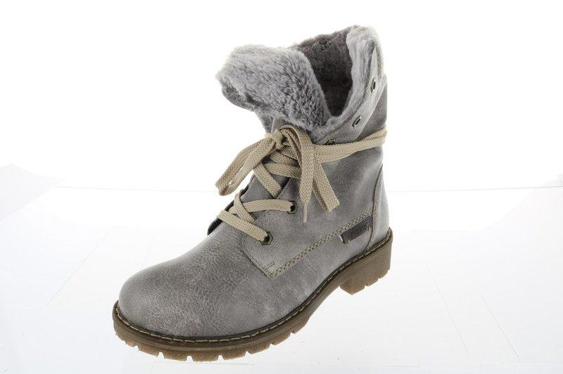 Rieker asche. Damen Stiefelette Boot warm 00d0997329